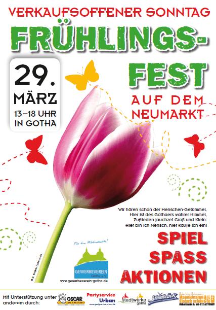 Frühlingsfest – in der City!