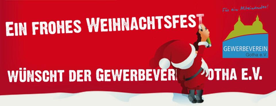 Weihnachtsgrüße vom Gewerbeverein!