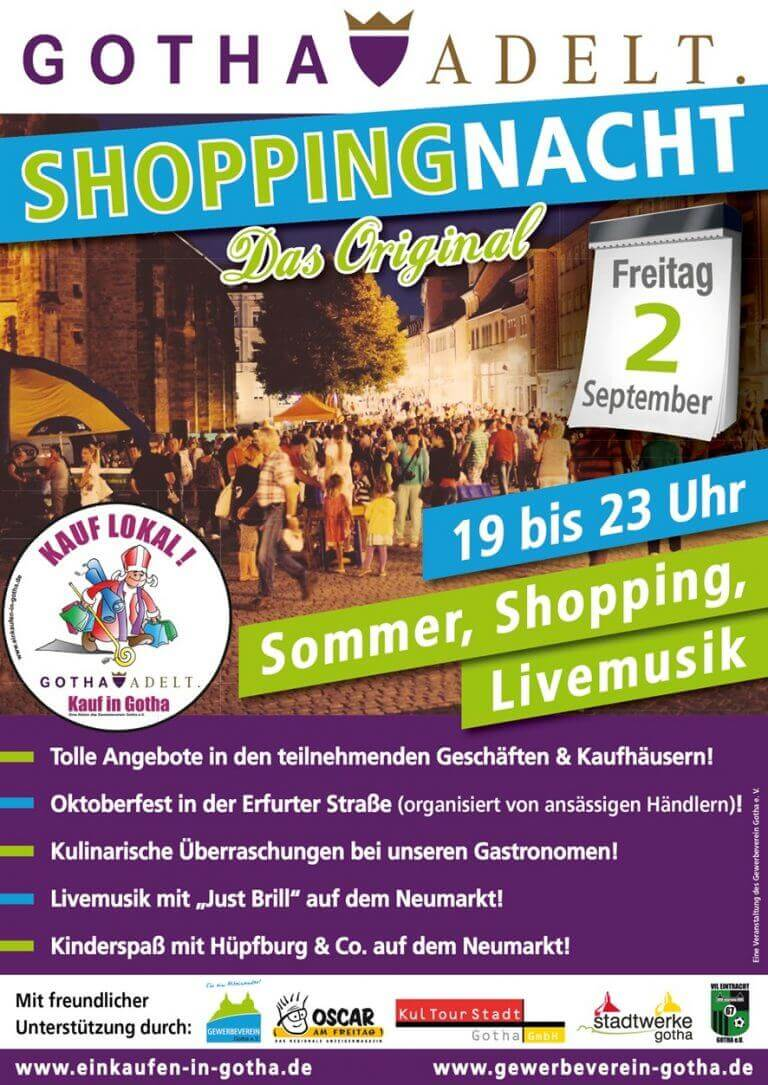 Archivplakat Shoppingnacht 2016