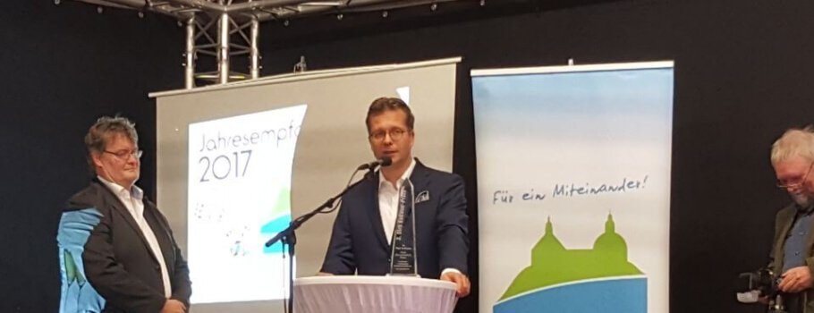 Preisverleihung Dirk-Kollmar-Preis an den