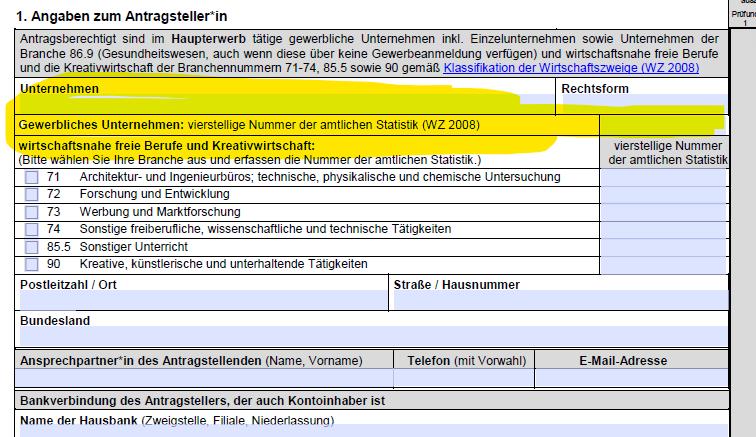 Unternehmensnummer Deutschland